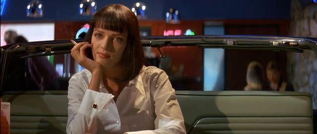 Mia le cuenta a Vincent sobre un piloto en el que actuó, ¿a qué otra pelicula de Tarantino se asemeja éste?