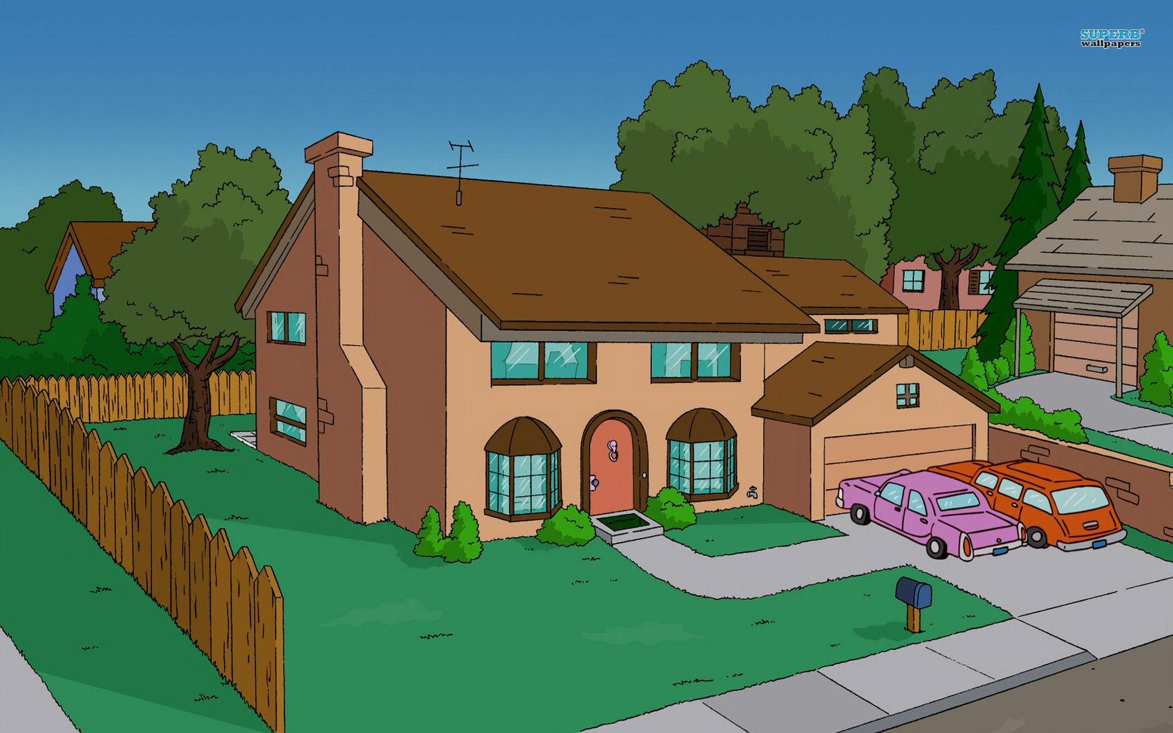 ¿Cuál es la dirección de los Simpsons?