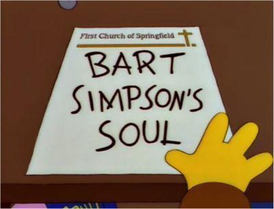 ¿A quién vende Bart su alma?