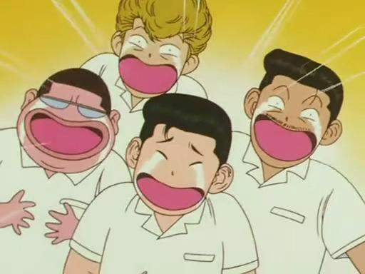 ¿Cómo se llaman los cuatro mejores amigos de Sakuragi?