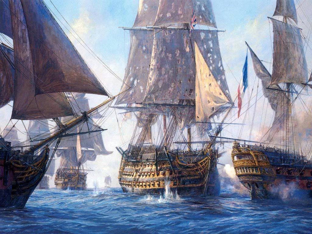 ¿ Cuál fue el mayor navío de línea de la historia ?