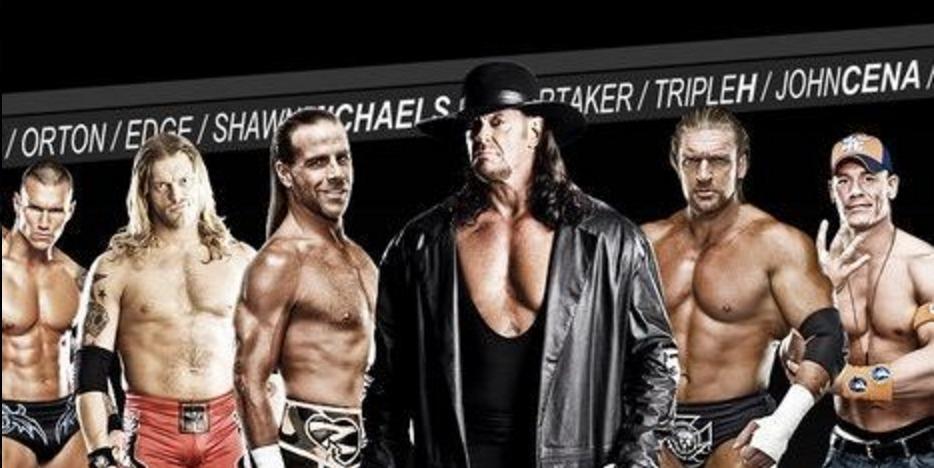 5428 - ¿Qué luchador de WWE eres?