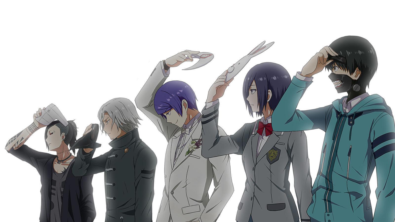 5675 - ¿Puedes reconocer estos personajes de Tokyo Ghoul?