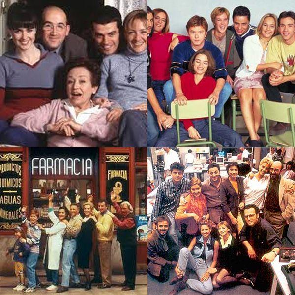 5678 - ¿Cuánto recuerdas de estas series españolas de los 90 y principios del 2000?