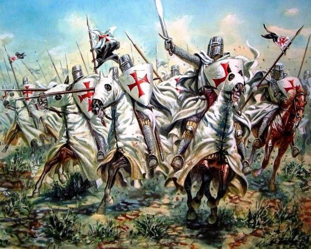 ¿ Cuál de estos países actuales nunca vio una cruzada en sus tierras en el pasado ?