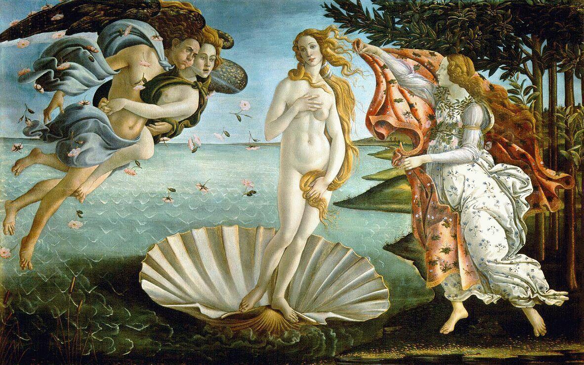 ARTE Y LITERATURA: ¿Qué obra NO pintó Sandro Botticelli?