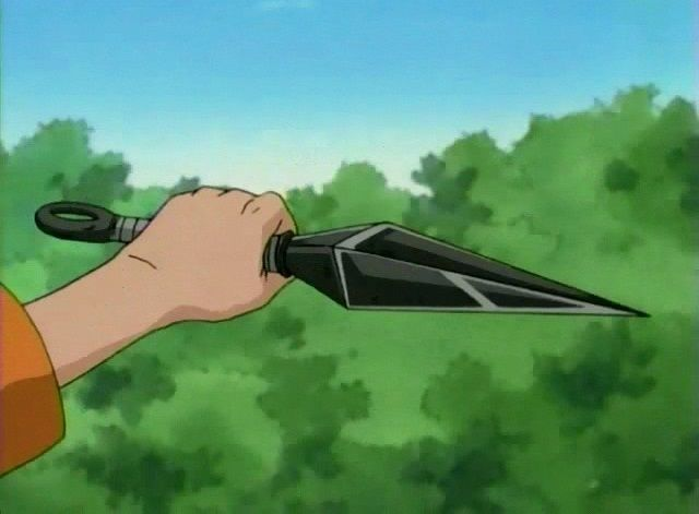 ¿Cómo se llama este arma (ver imagen) que usan tanto en Naruto?