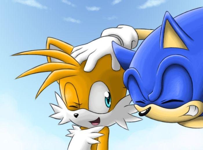 Según Sonic X, ¿cómo se conocen Sonic y Tails?