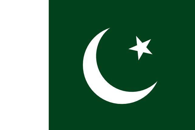 Hoy es la bandera de Pakistán,pero antes también la usaba otro pueblo ¿Pero cuál?