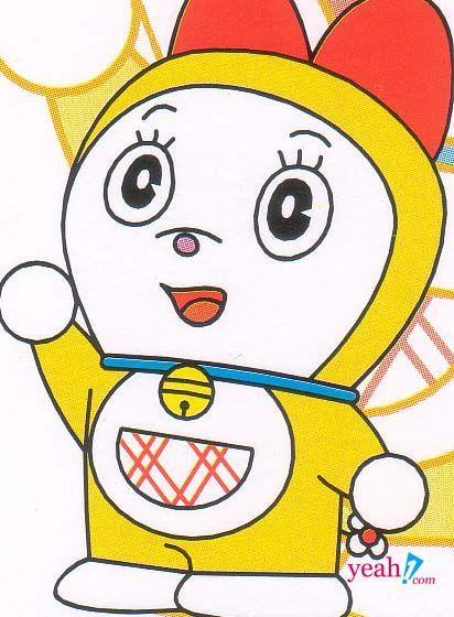 ¿Cómo se llama la hermana menor de Doraemon?