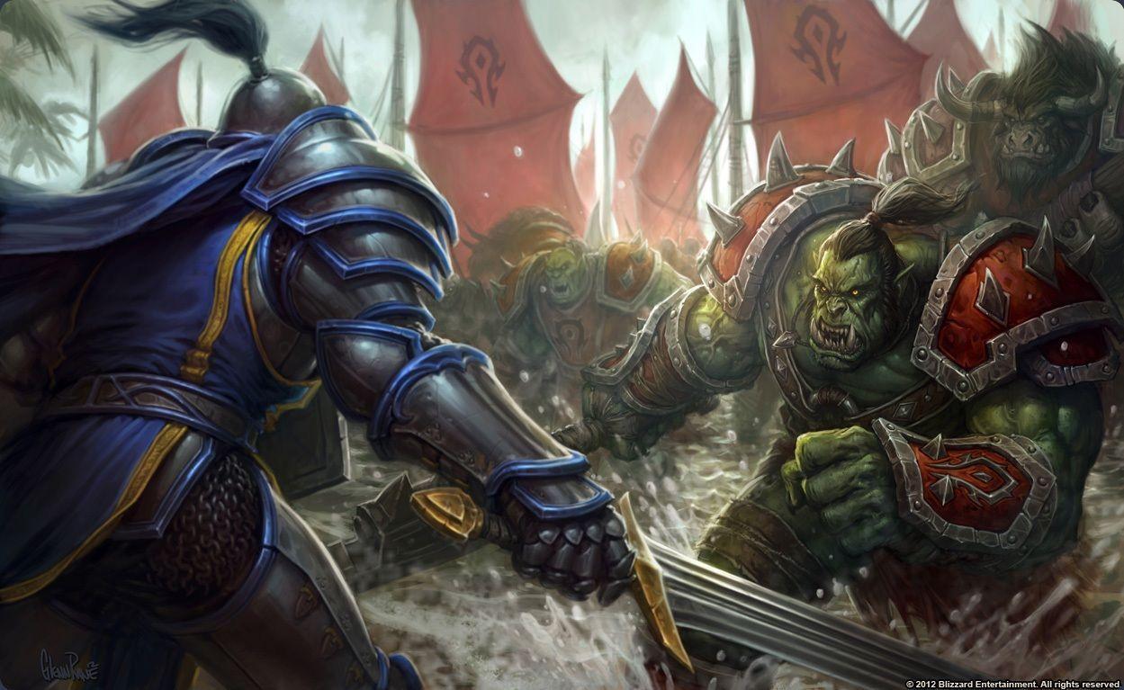 Una guerra ha estallado entre la Horda y la Alianza. ¿Qué haces?
