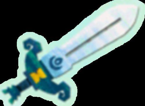 ¿Qué nombre recibe la espada forjada con los cristales en el Phantom Hourglass?