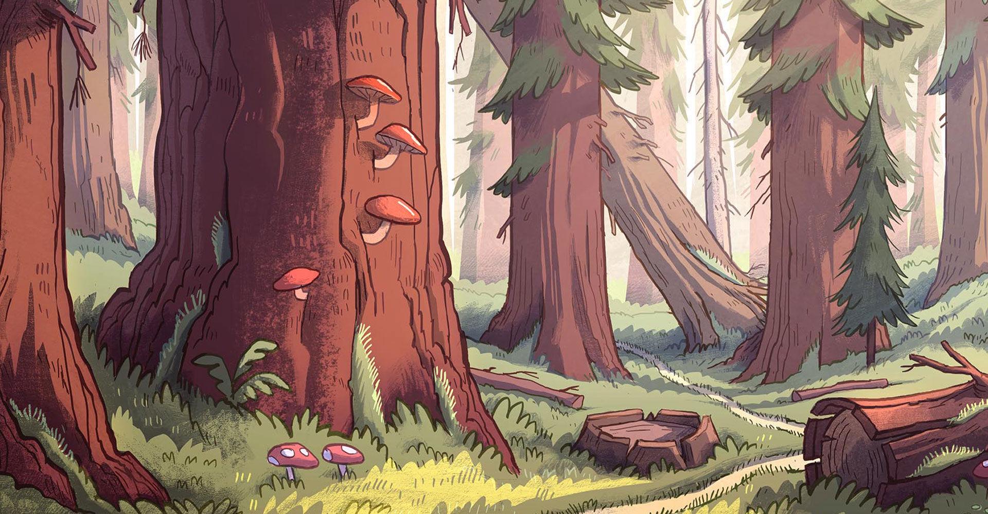¿Cuál es la primera criatura paranormal de Gravity Falls que vemos en la serie?
