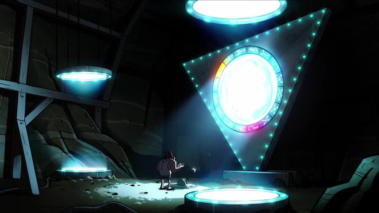 ¿A dónde conduce realmente el portal que hay debajo de la Cabaña del Misterio?