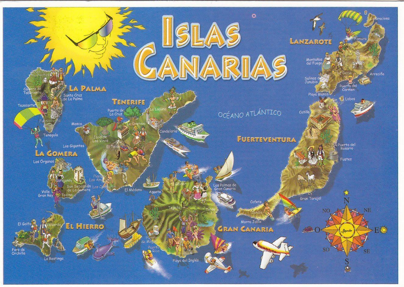 5963 - ¿Cuánto sabes de las Islas Canarias?