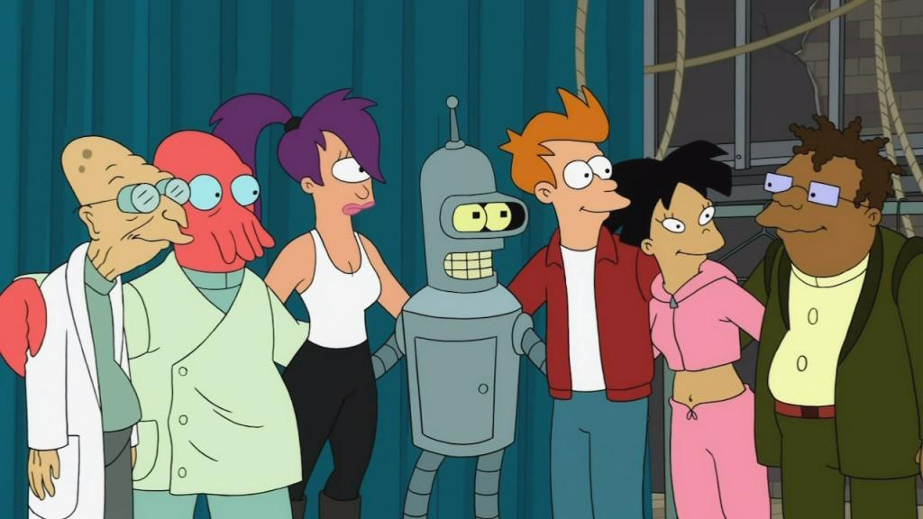 5697 - ¿Qué personaje de Futurama eres?