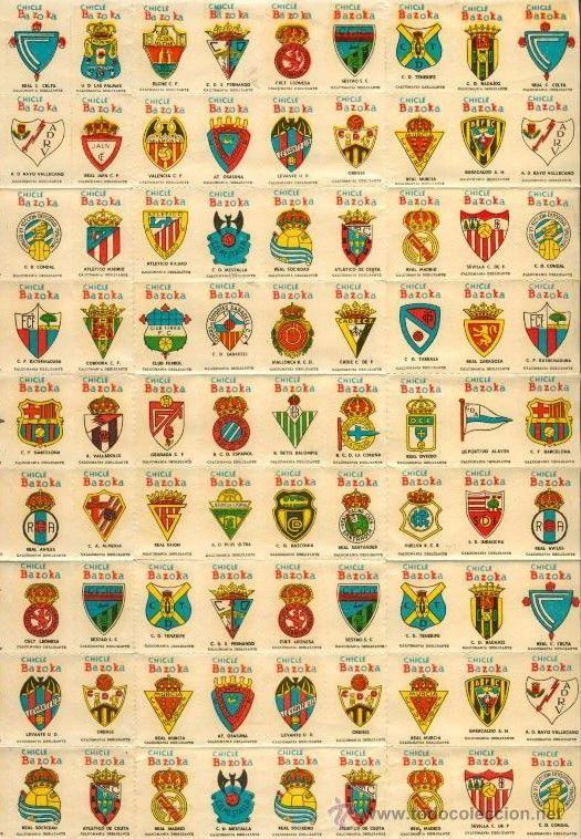 5968 - ¿Puedes reconocer estos antiguos escudos de equipos de fútbol europeos?