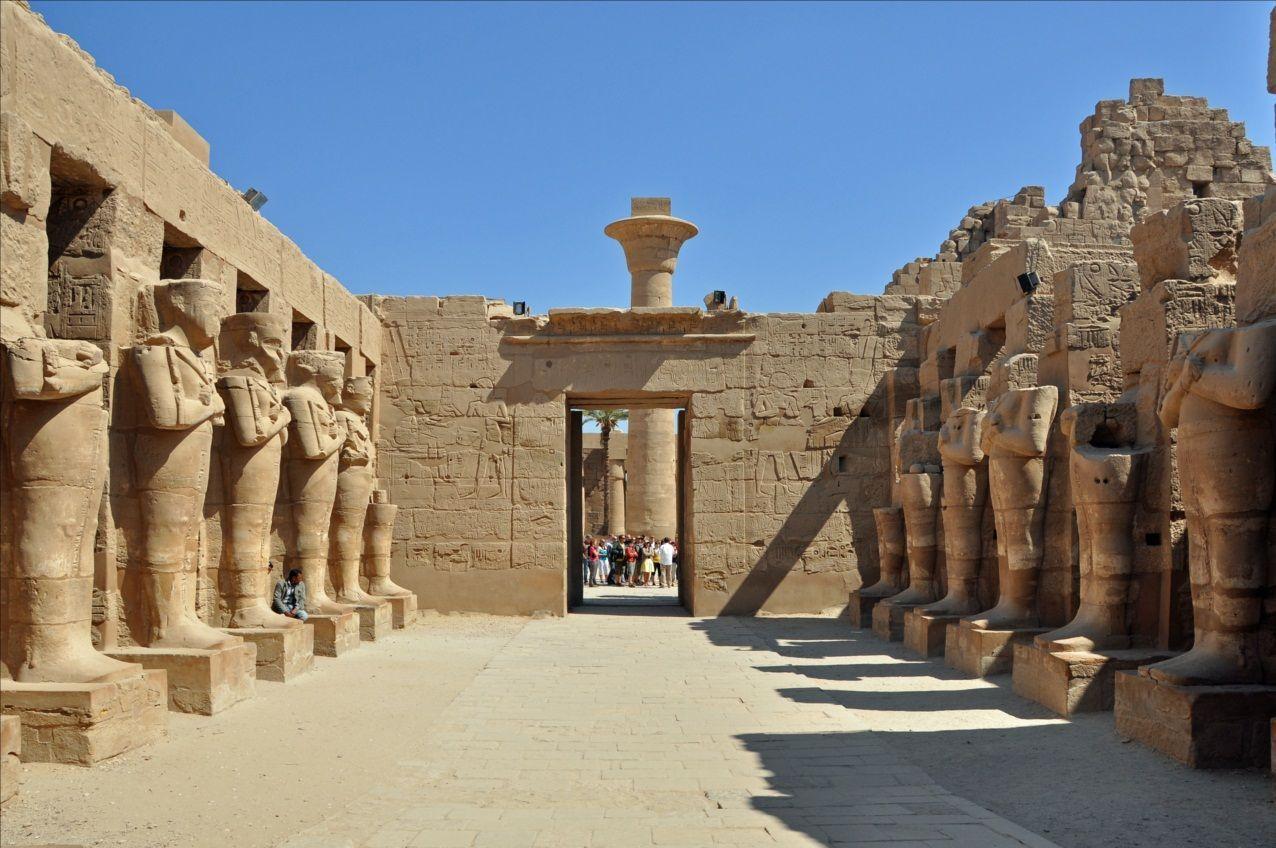 ¿Dónde se encuentra el Templo de Karnak?