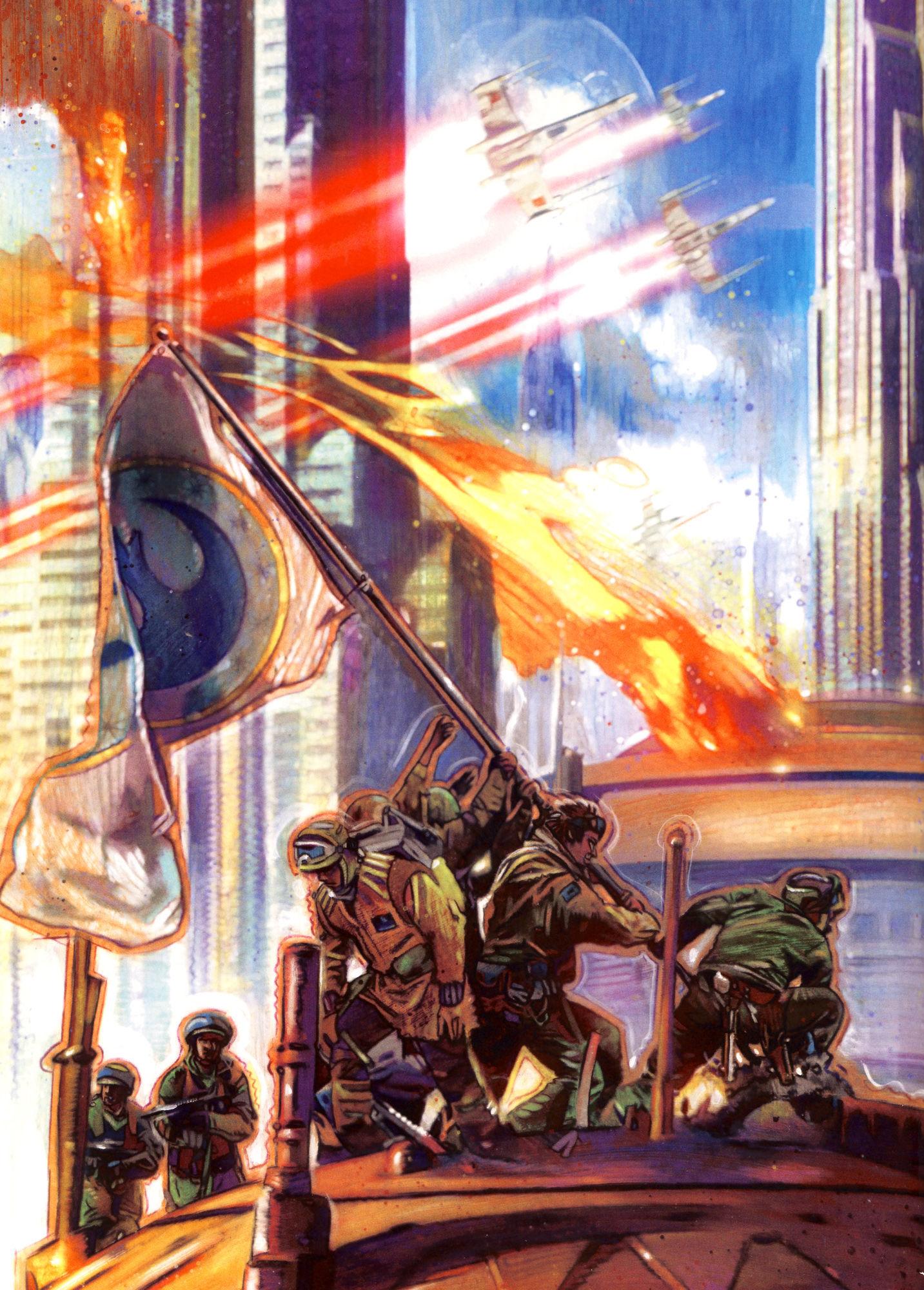 ¿Cuándo ocurre la Liberación de Coruscant por parte de la Nueva República?