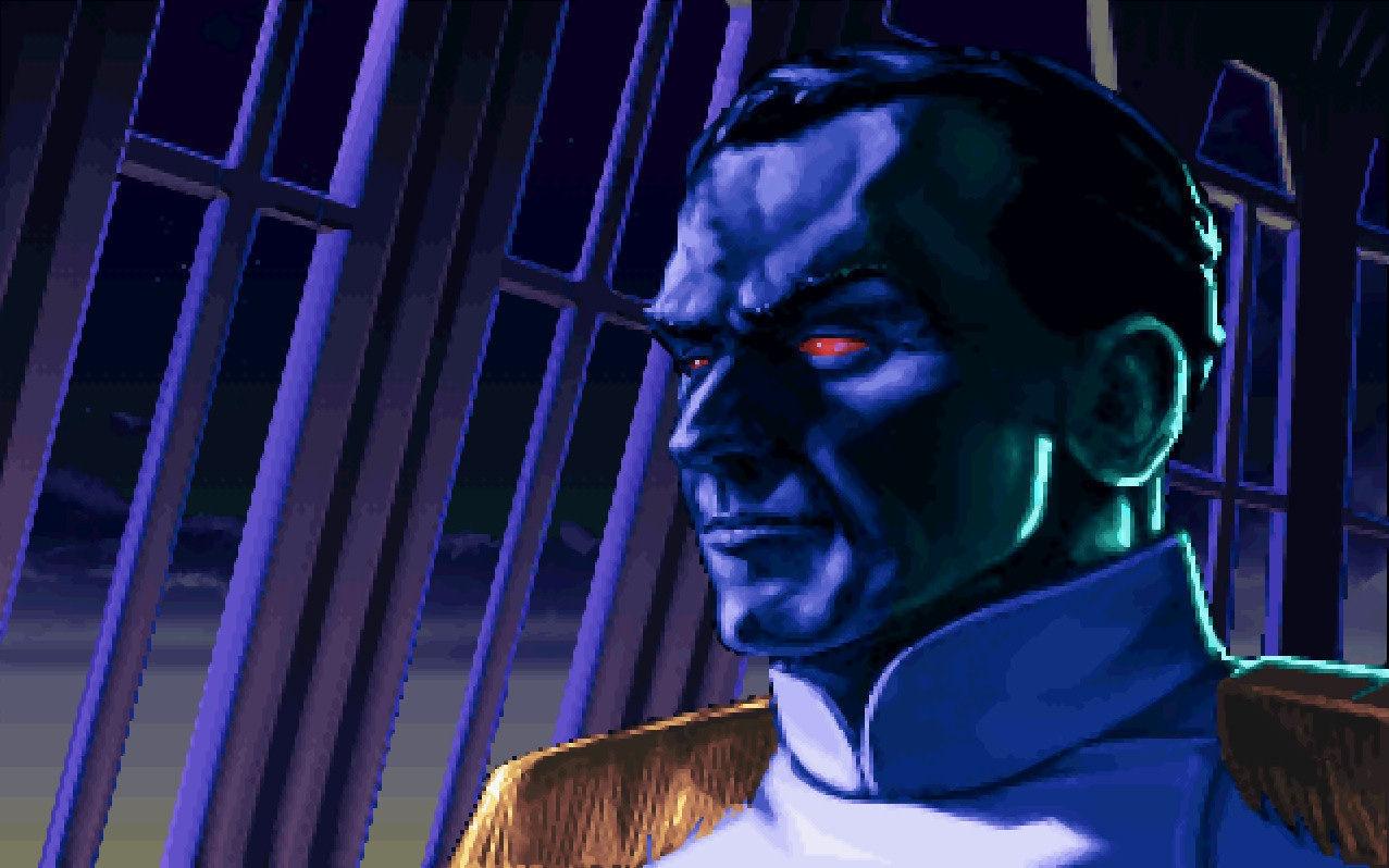 En el 9 DBY, el Gran Almirante Thrawn emprende una campaña contra la Nueva República. ¿Dónde se encontraba Thrawn?