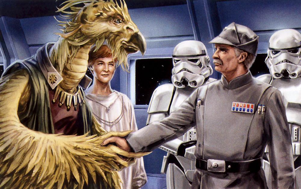 El Remanente Imperial y la Nueva República firman un tratado que pone fin a la Guerra Civil Galáctica. ¿Dónde?