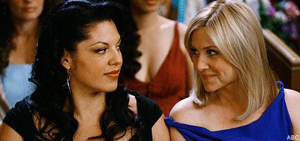 ¿Por qué se enfada Arizona con su mujer Callie?