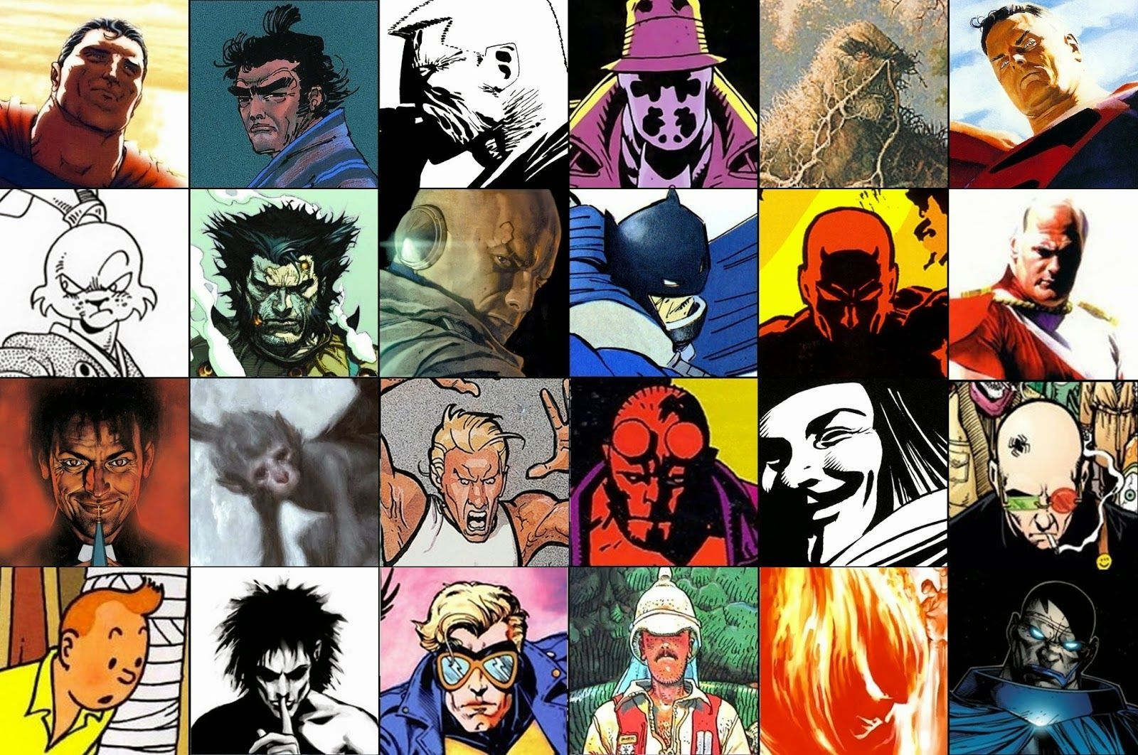 6051 - ¿Cuánto sabes de cómics?
