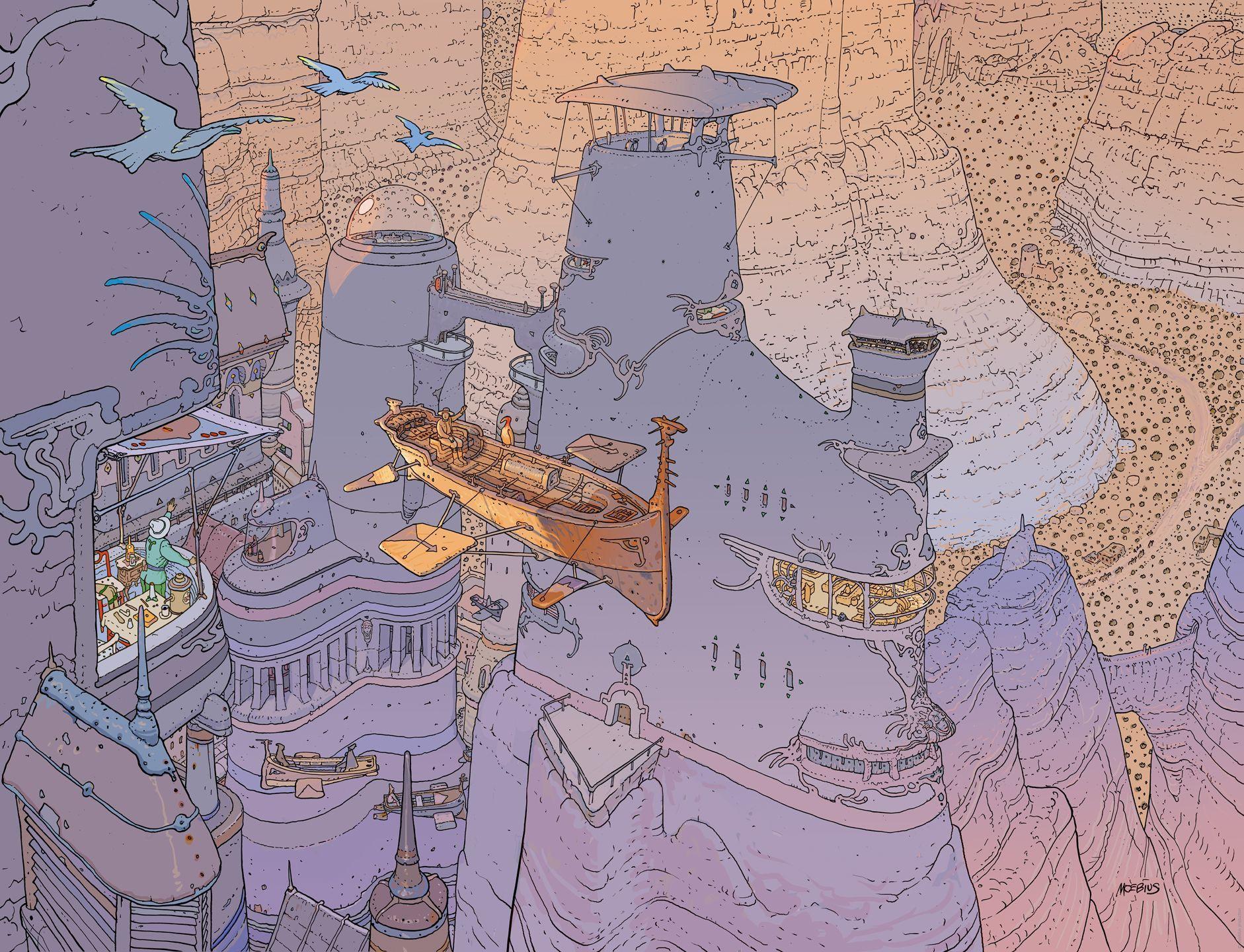 ¿Con que trabajo se dio a conocer el dibujante Jean Giraud, más conocido como Moebius?