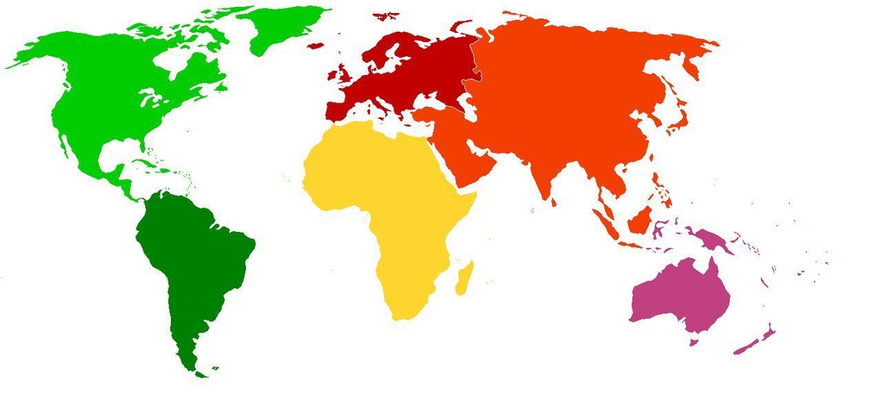 Por último, ¿En qué continentes ha llevado a cabo operaciones la OTAN/NATO?