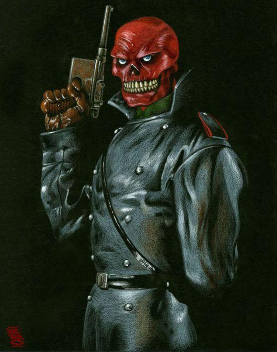 (NIVEL FÁCIL) ¿Por qué Cráneo Rojo es así, en forma física?