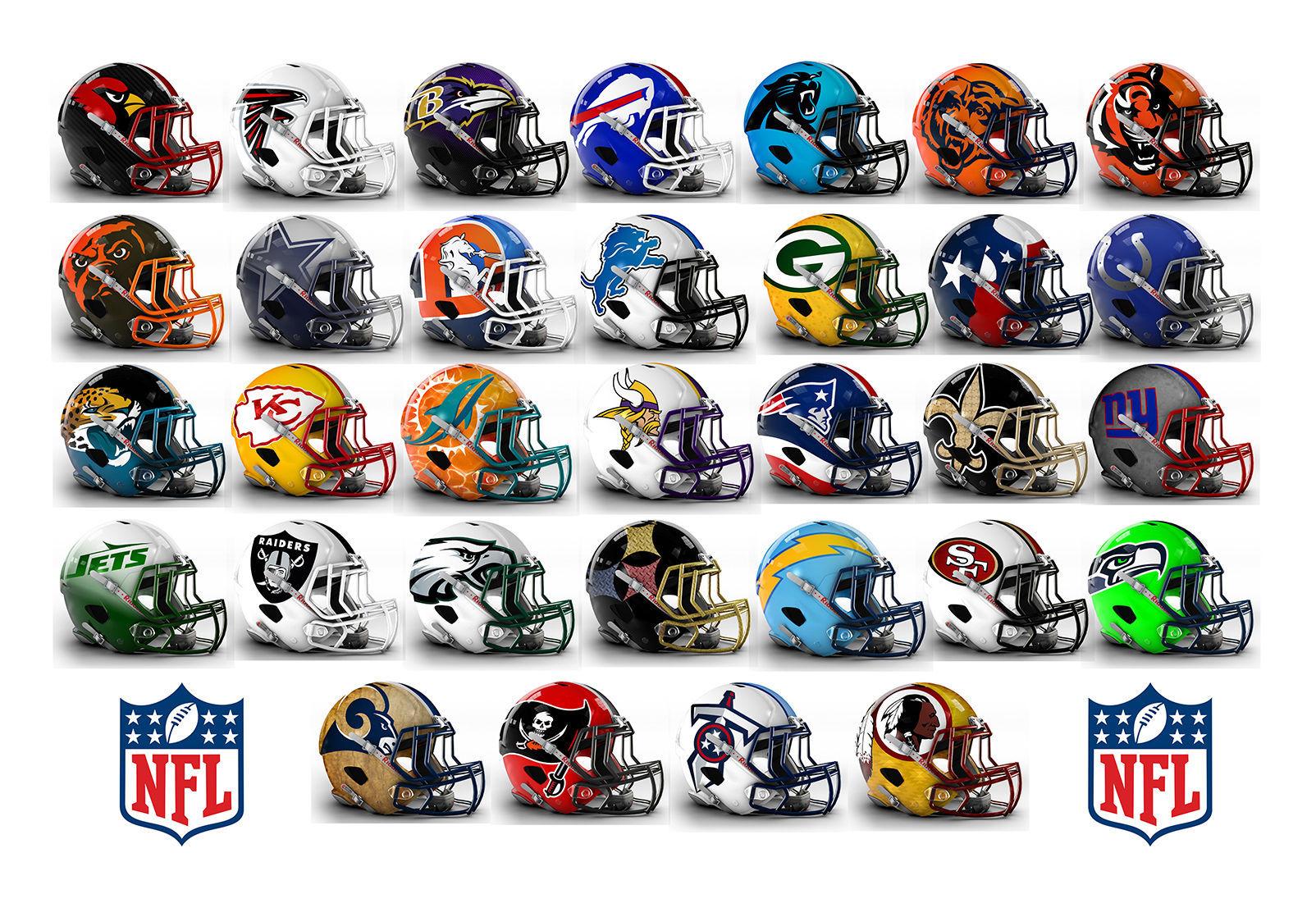 6112 - ¿Serás capaz de identificar estos equipos de NFL por el casco?