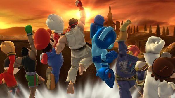 ¿Cuáles son los primeros personajes de fuera de Nintendo (de otras empresas) que se introdujeron en SSB?