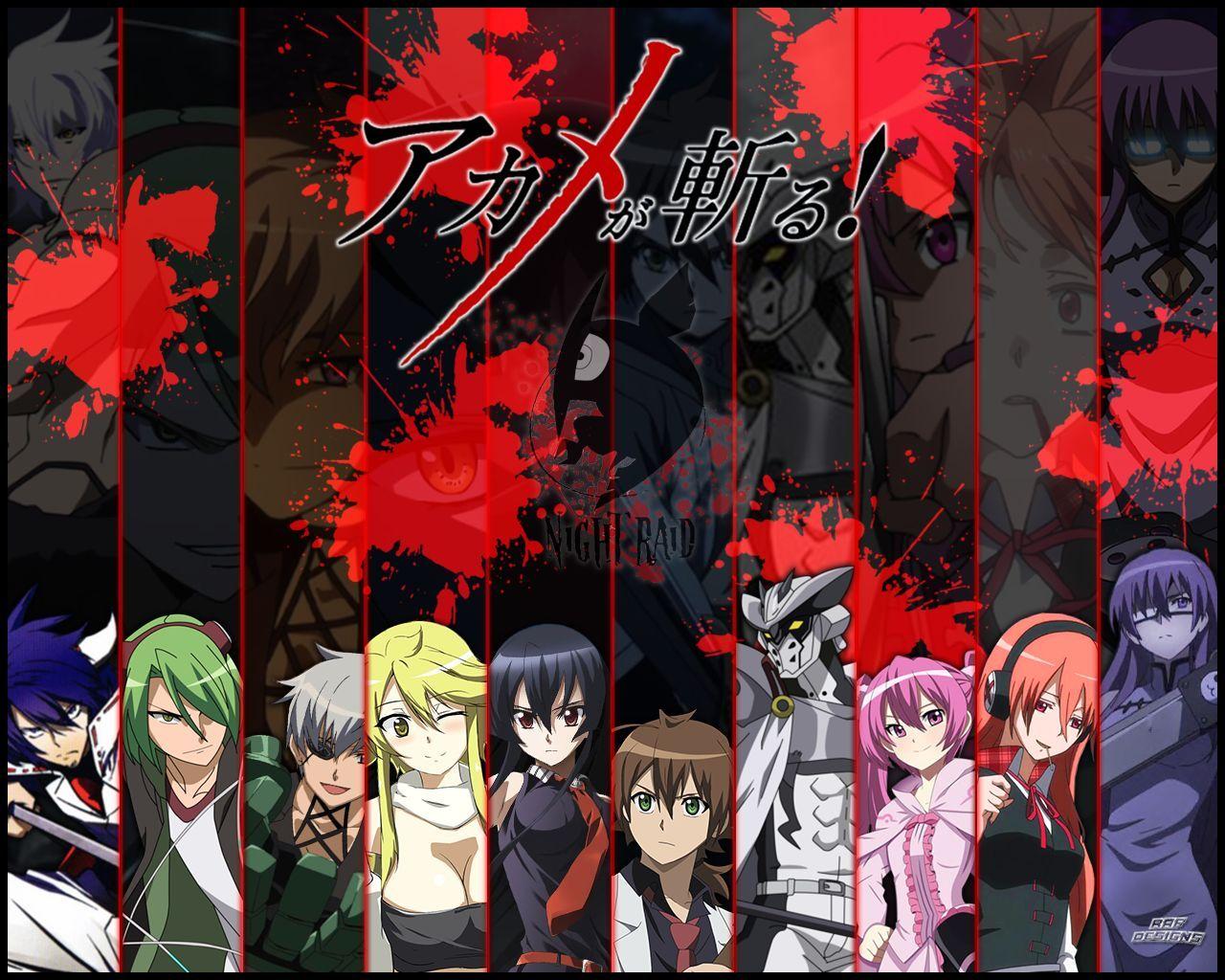 6150 - ¿Reconocerás a todos y cada uno de los miembros de Night Raid? (Akame Ga Kill)