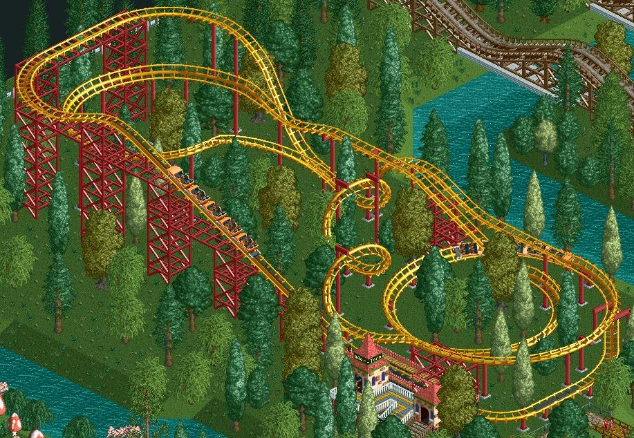 En realización de 'Roller Coaster Tycoon 2' participó una gran cadena de parques de atracciones. Hablamos de...