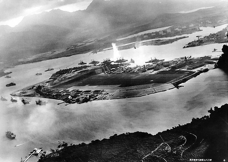 ¿Qué base americana fue atacada por sorpresa por los japoneses? (Esta quizá sea algo más especifica)