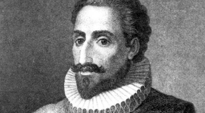 ¿En qué batalla naval perdió la mano Miguel de Cevantes, autor del