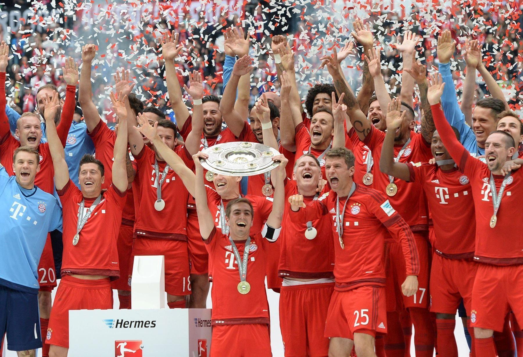 Una fácil, ¿cuántas veces ha ganado la bundesliga el Bayern München?
