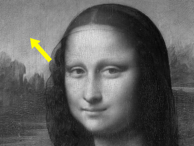 ¿De qué color era el cielo de la mona lisa?