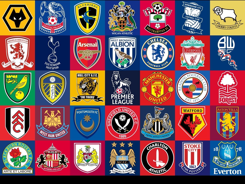 2998 - ¿Reconocerás todos estos escudos de fútbol? [Nivel difícil]