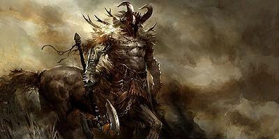 Estás caminando cuando ves a alguien en apuros: está siendo perseguido por un gran centauro. ¿Qué haces?