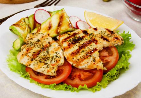 Elige uno de estos platos para comer.