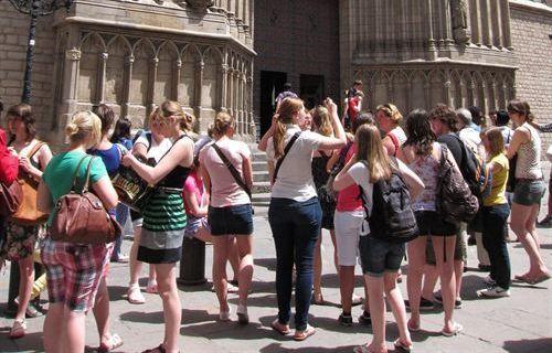 ¿Qué tal llevas el tema de los turistas?