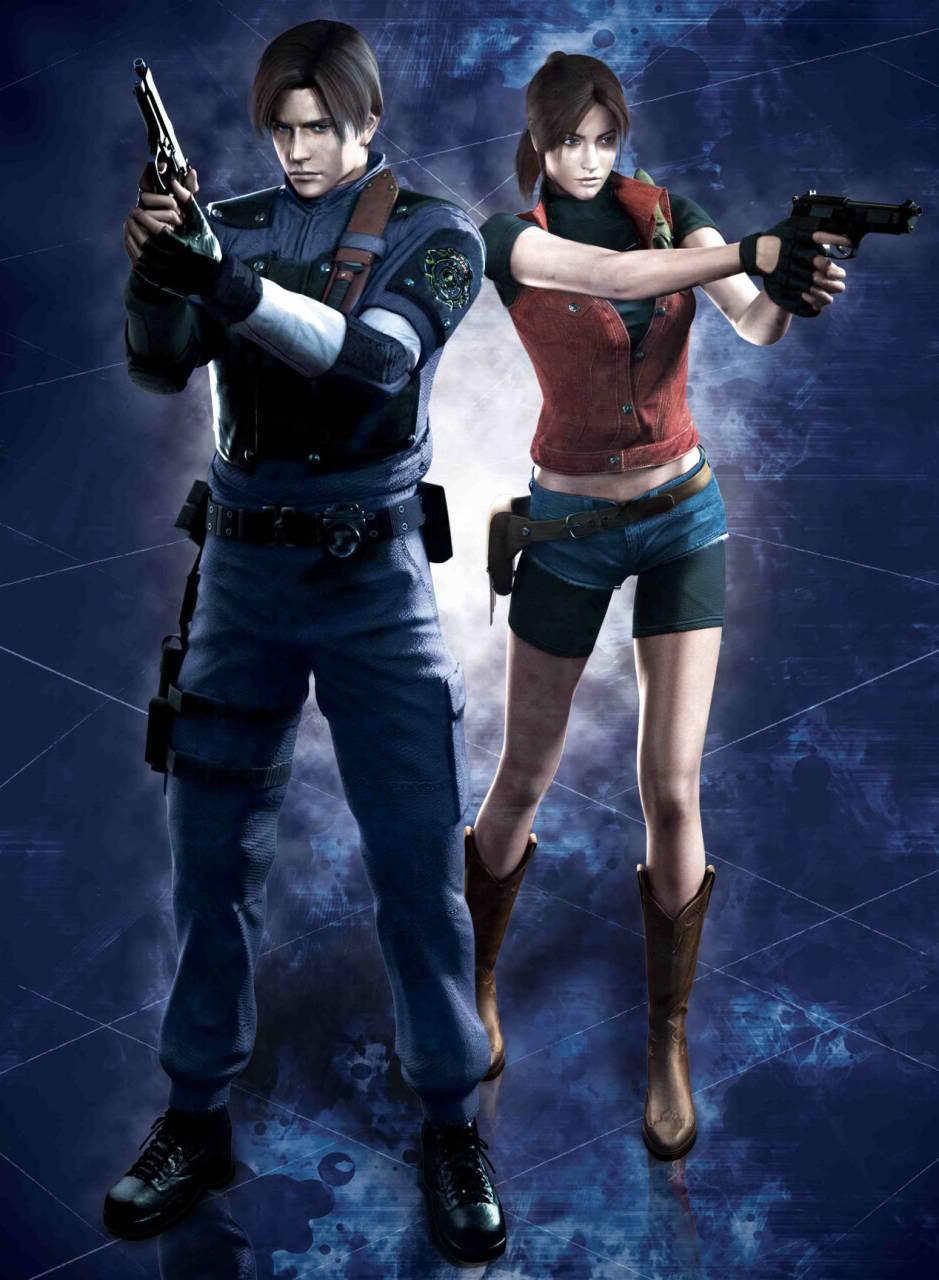 ¿Como huyeron Leon y Claire de Racoon City?