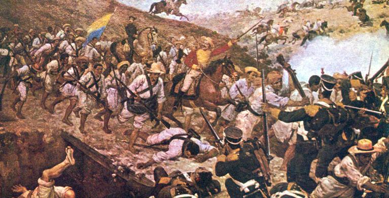 ¿En qué año Colombia declaró su independencia de España?