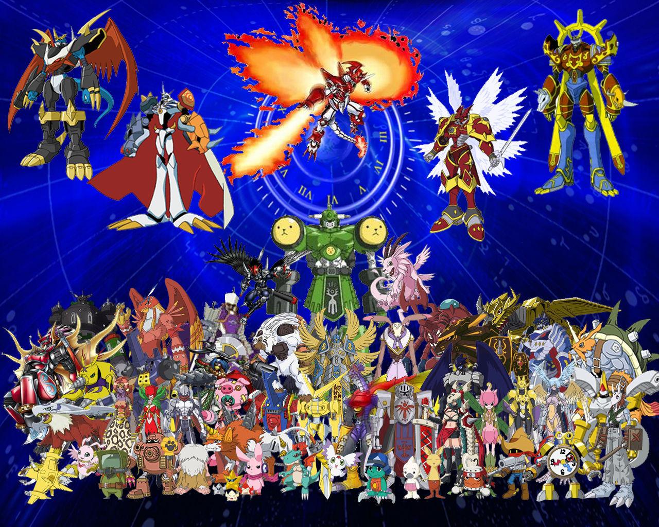 6458 - ¿Puedes reconocer estos Digimon? [Intermedio-alto]