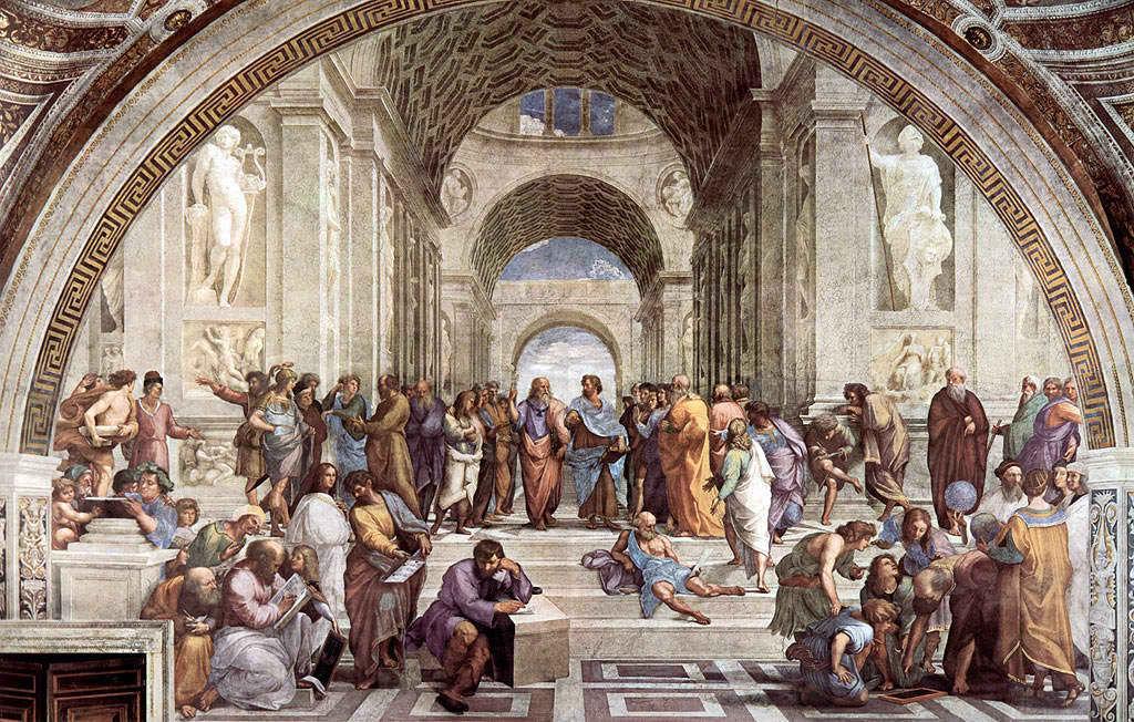 ¿Cuál de los tres filósofos más famosos de Grecia habló por primera vez de la legendaria Atlántida?