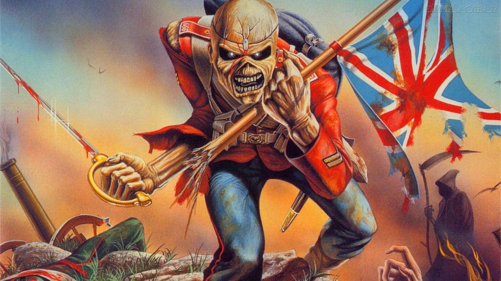 ¿Quién dibuja a Eddie en las tapas de los discos de Iron Maiden?