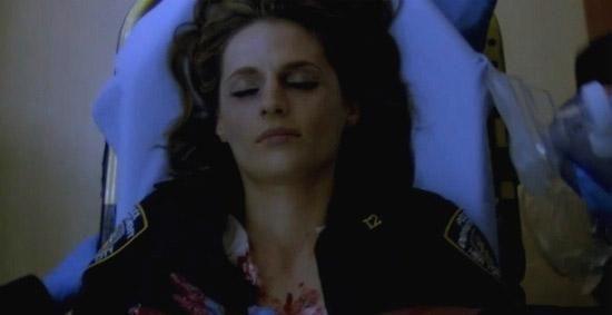 ¿Dónde dispararon a Beckett?