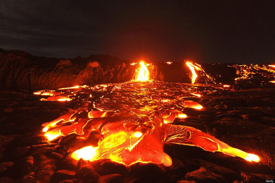 Según su composición, tanto el magma como la lava, se dividen en diferentes tipos ¿Cuáles?