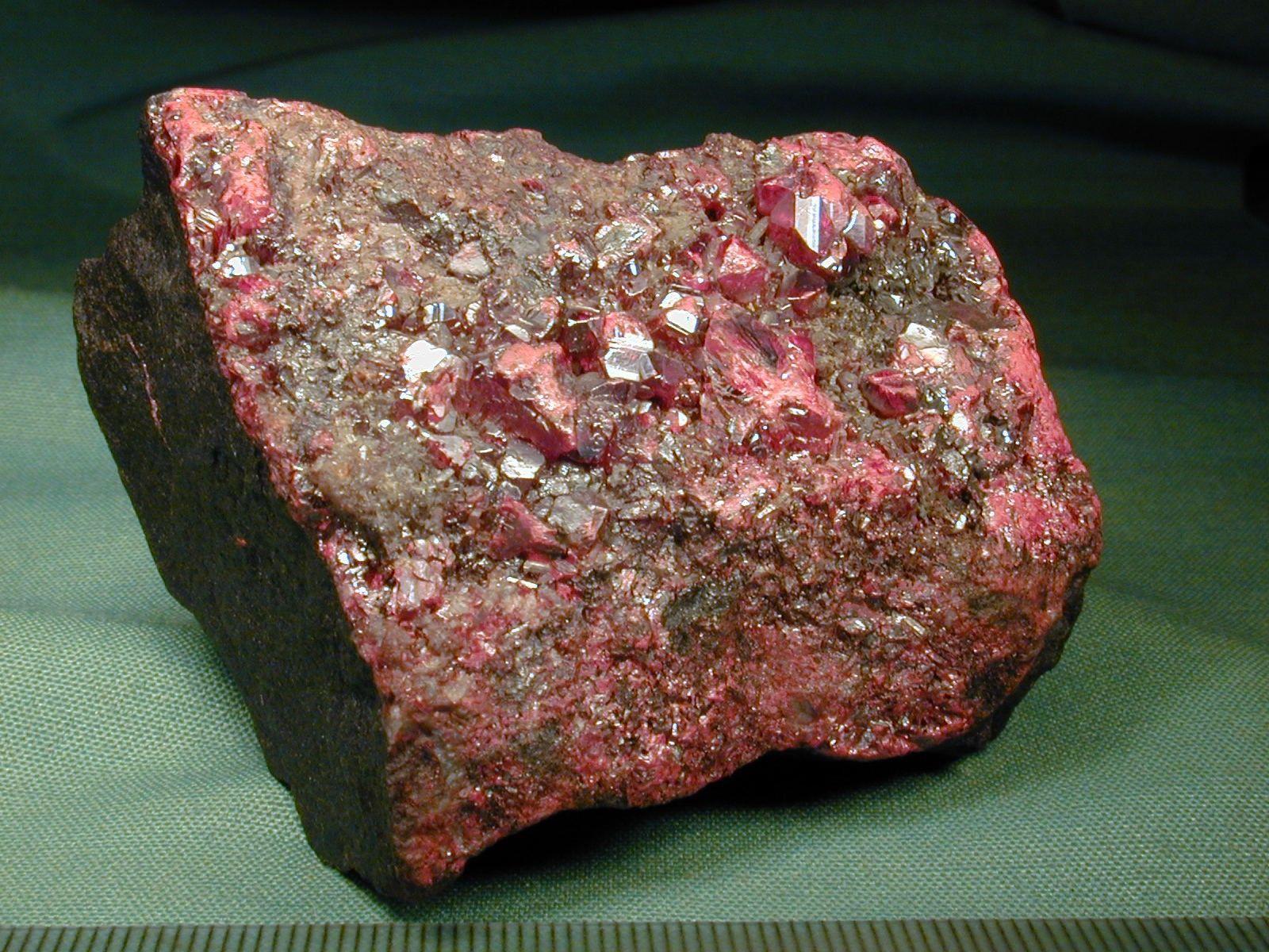¿Cuál de los siguientes minerales es de mercurio?